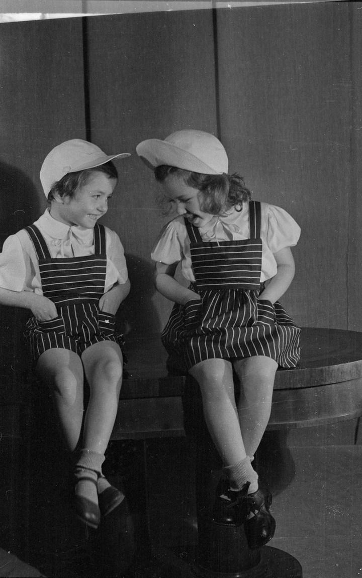 Лица Советской эпохи на снимках Фридлянда. Дети 1940-1950-х (10)