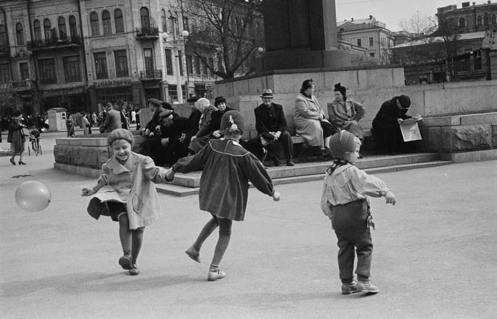 Лица Советской эпохи на снимках Фридлянда. Дети 1940-1950-х (11)