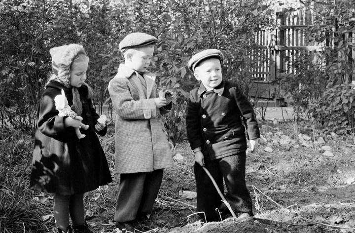 Лица Советской эпохи на снимках Фридлянда. Дети 1940-1950-х (12)