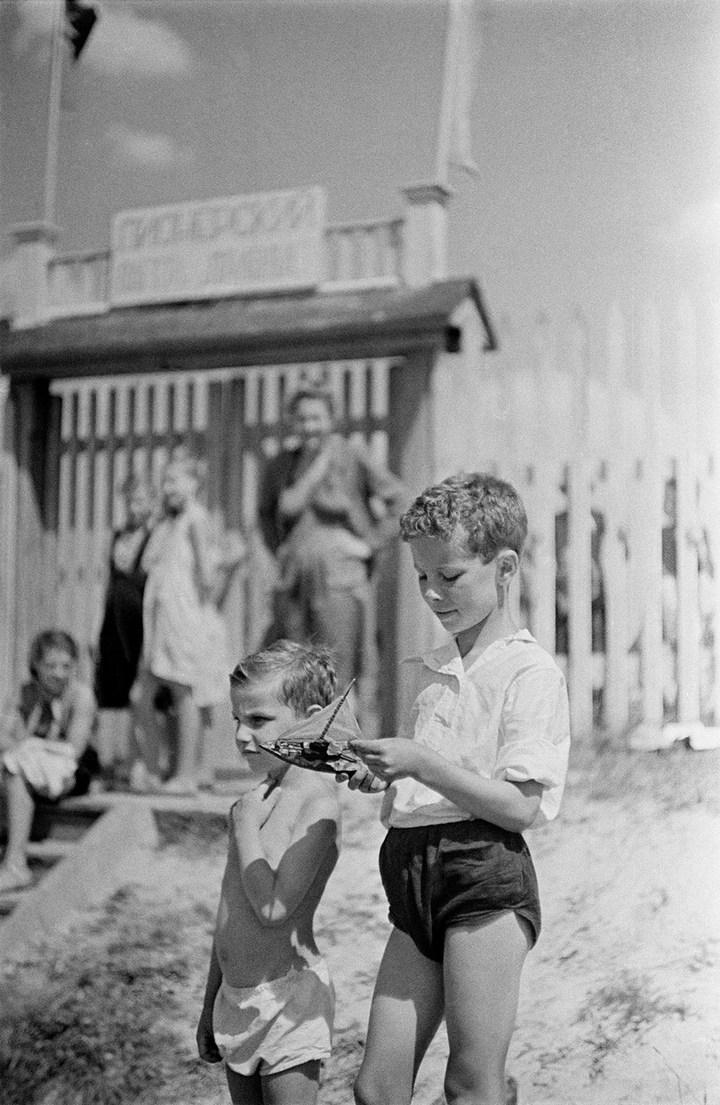 Лица Советской эпохи на снимках Фридлянда. Дети 1940-1950-х (13)