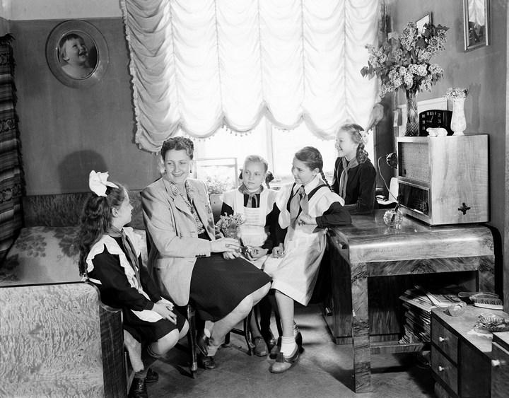 Лица Советской эпохи на снимках Фридлянда. Дети 1940-1950-х (17)