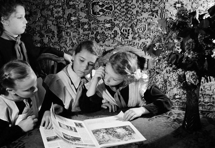 Лица Советской эпохи на снимках Фридлянда. Дети 1940-1950-х (18)