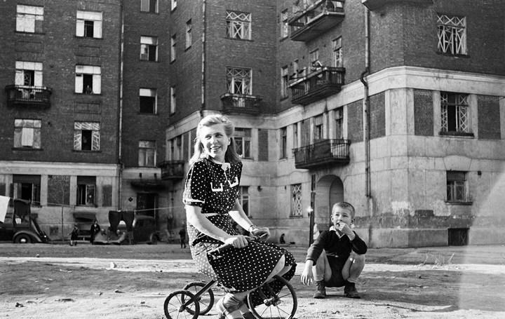 Лица Советской эпохи на снимках Фридлянда. Дети 1940-1950-х (19)