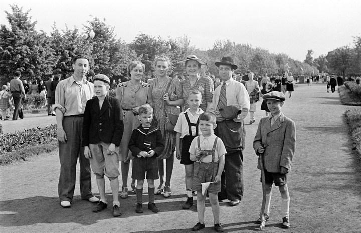 Лица Советской эпохи на снимках Фридлянда. Дети 1940-1950-х (20)