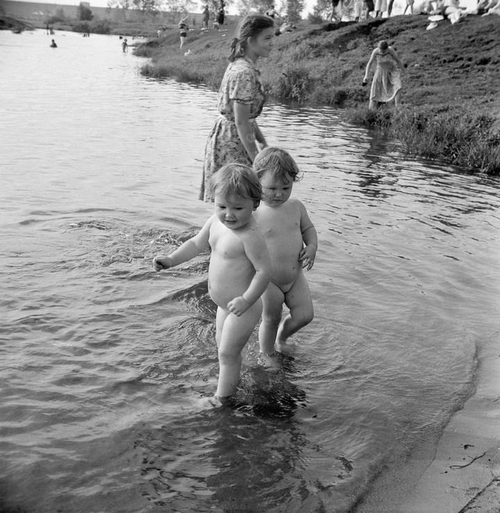 Лица Советской эпохи на снимках Фридлянда. Дети 1940-1950-х (21)