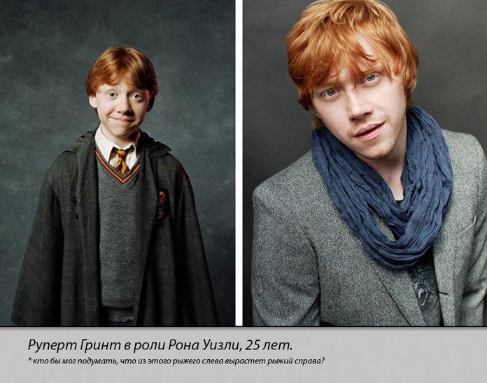 Герои кинологии Гарри Поттер тогда и сейчас (4)