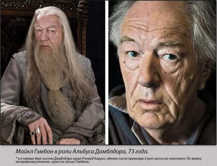Герои кинологии Гарри Поттер тогда и сейчас (3)