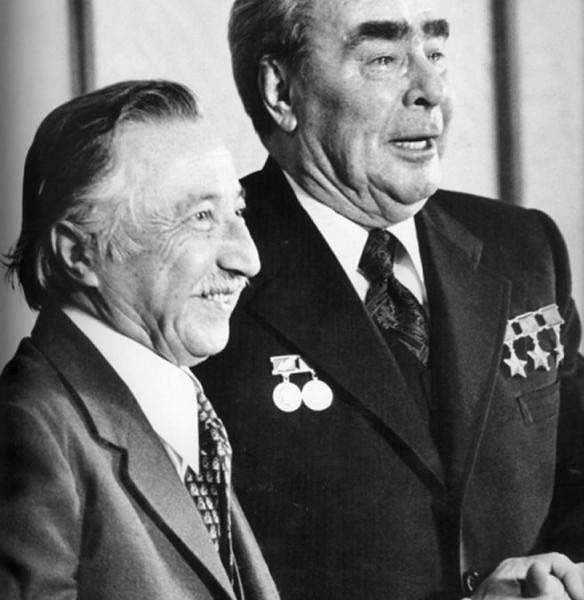 Редкие фотографии Брежнева (9)