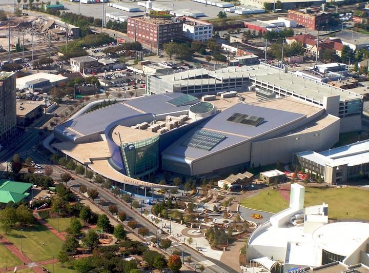 Самый большой аквариум в мире (2)