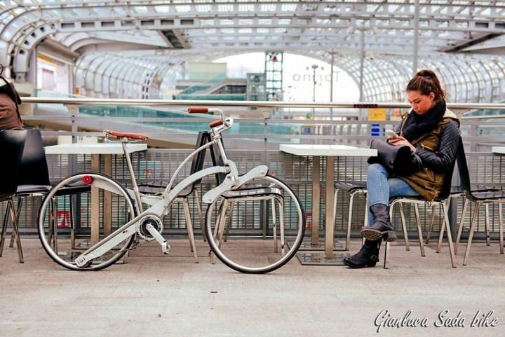 Необычный складной велосипед (6)