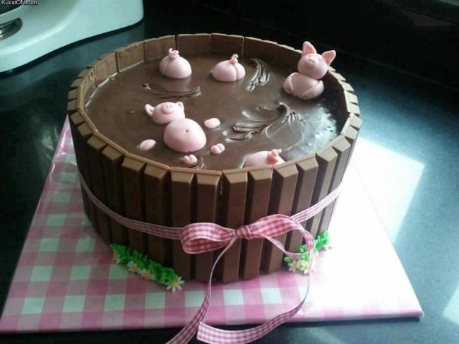 Самые необычные и красивые торты к праздничному столу (2)