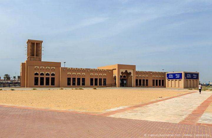 Как устроено метро в Дубае (3)