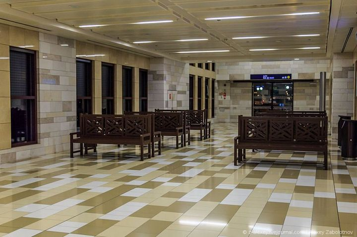 Как устроено метро в Дубае (4)