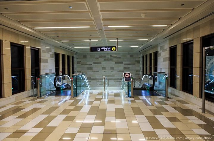 Как устроено метро в Дубае (5)