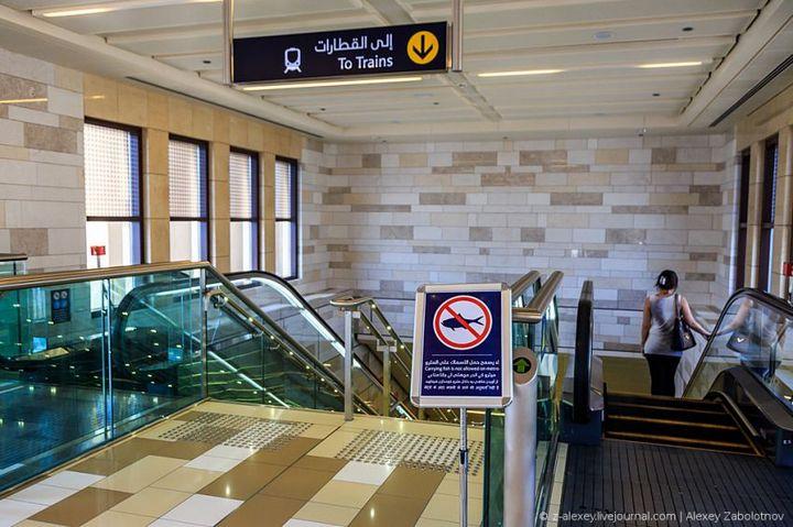 Как устроено метро в Дубае (6)