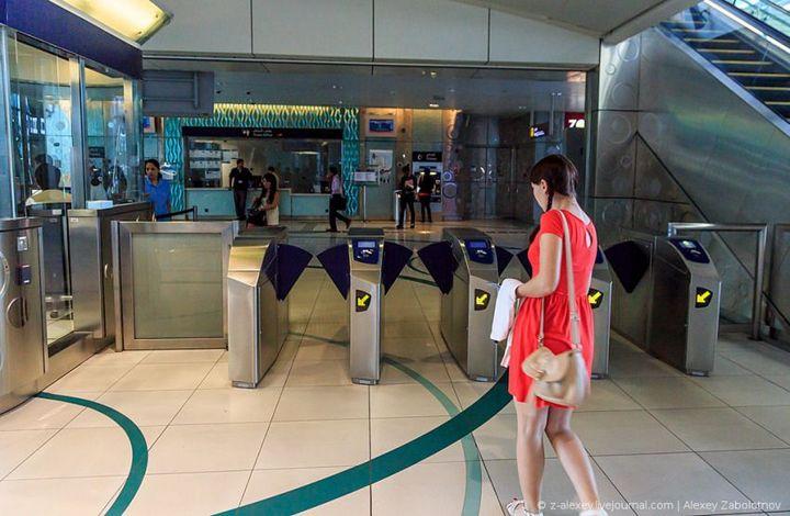 Как устроено метро в Дубае (8)