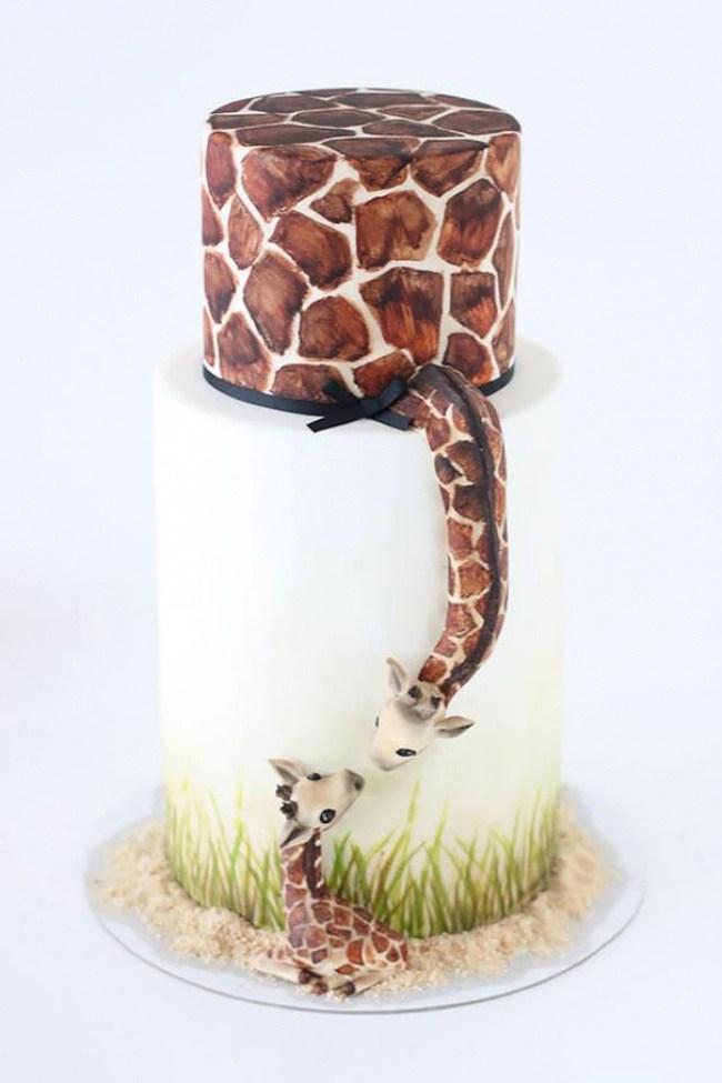 Самые необычные и красивые торты к праздничному столу (9)