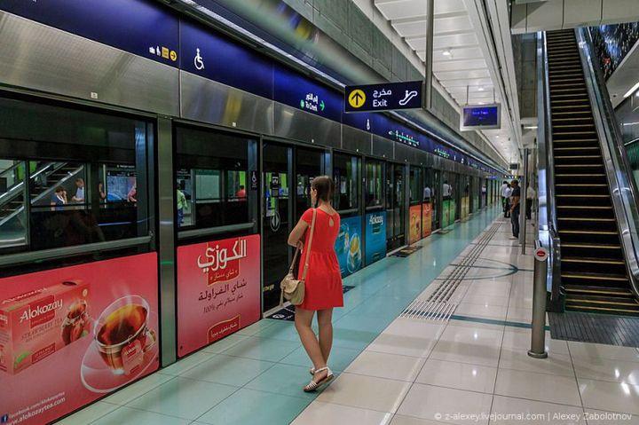 Как устроено метро в Дубае (11)
