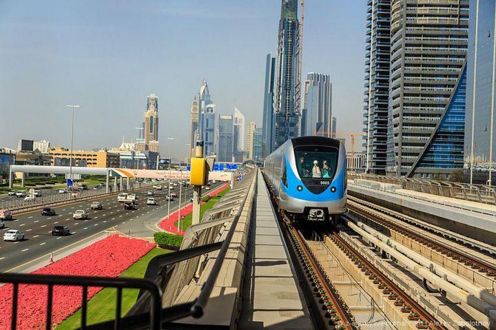 Как устроено метро в Дубае (14)