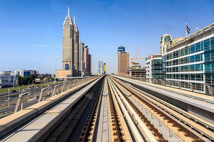 Как устроено метро в Дубае (15)