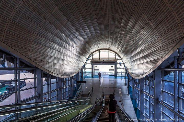 Как устроено метро в Дубае (16)