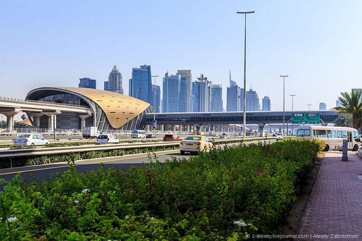 Как устроено метро в Дубае (21)