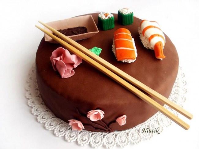 Самые необычные и красивые торты к праздничному столу (24)