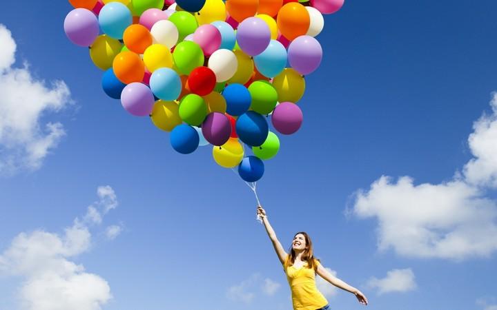 Как сделать облако из воздушных шаров своими руками (1)