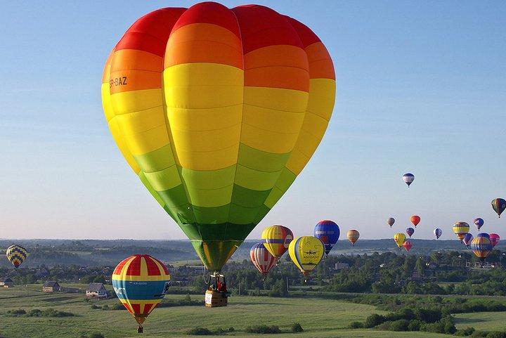 Полёт на воздушном шаре – широкие возможности аэростата (3)