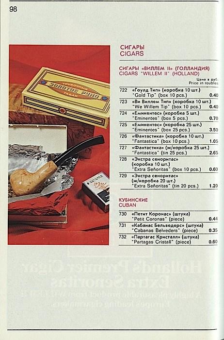 """Цены на товары в магазине """"Берёзка"""" в СССР (19)"""