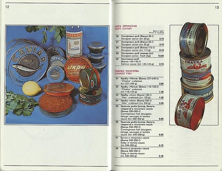 """Цены на товары в магазине """"Берёзка"""" в СССР (22)"""