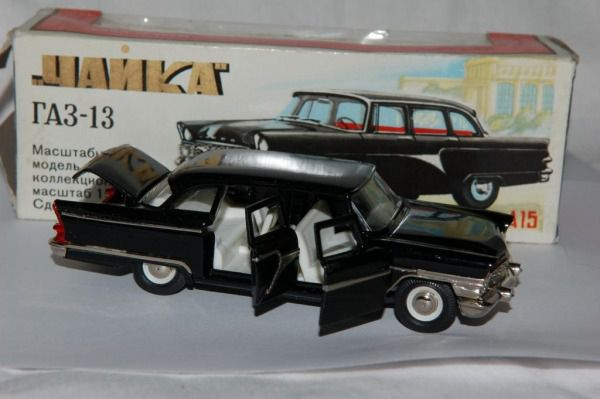 Коллекция советских моделек масштаба 1:43 (45)