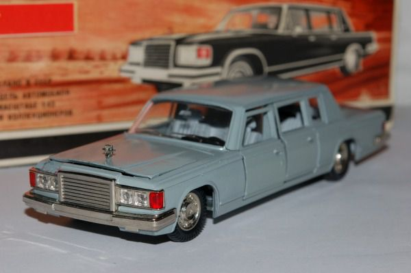 Коллекция советских моделек масштаба 1:43 (22)
