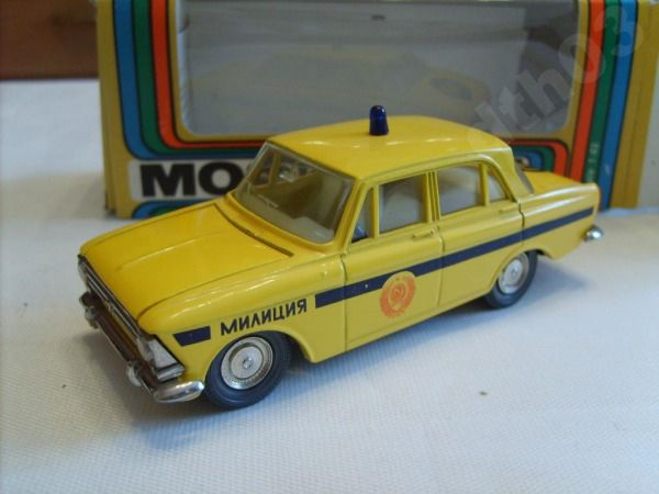 Коллекция советских моделек масштаба 1:43 (43)