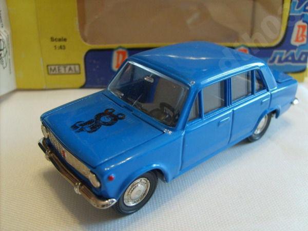 Коллекция советских моделек масштаба 1:43 (42)