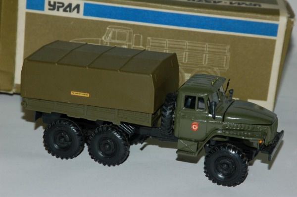 Коллекция советских моделек масштаба 1:43 (32)