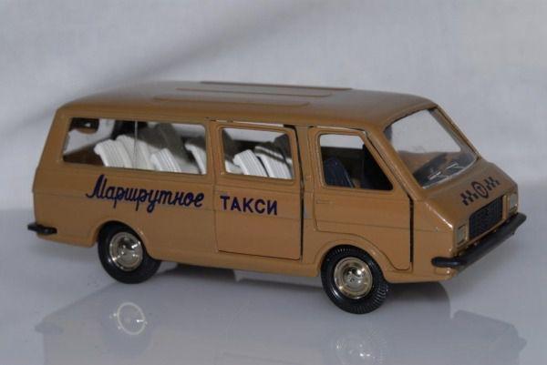Коллекция советских моделек масштаба 1:43 (38)