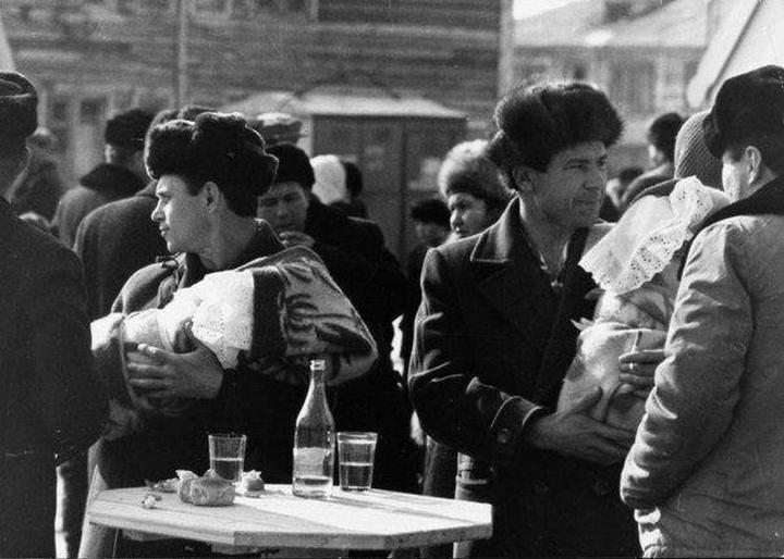 Суббота. Москва. 40 лет назад.