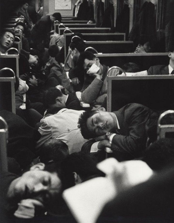 Утренний поезд, Япония, 1964