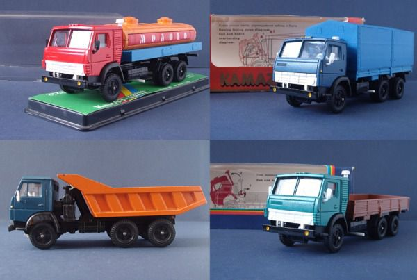 Коллекция советских моделек масштаба 1:43 (11)