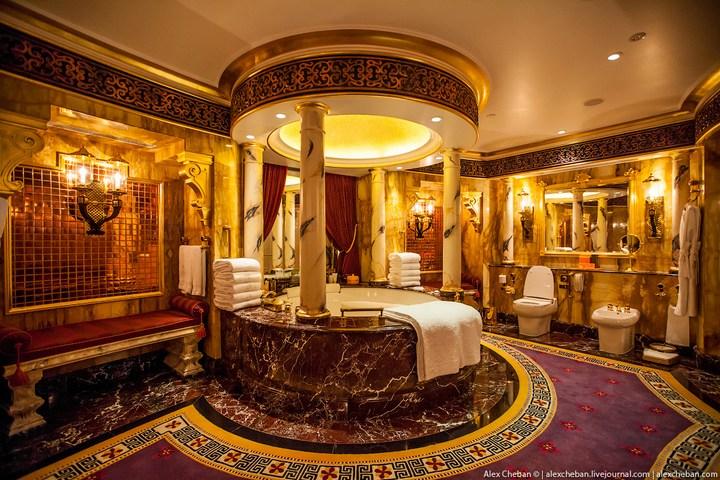 Самый дорогой гостиничный номер в семизвездочном отеле Burj Al Arab (52)
