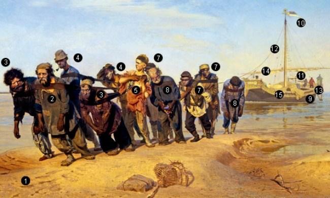 Бурлаки на Волге — кто все эти люди (1)