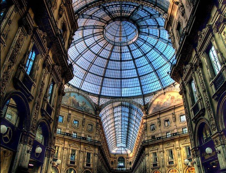 Улица под куполом в Милане (2)