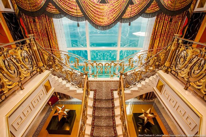 Самый дорогой гостиничный номер в семизвездочном отеле Burj Al Arab (51)