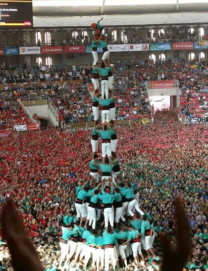 Замки из людей. Соревнование в Таррагоне 2014 (3)