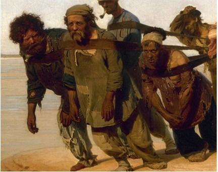 Бурлаки на Волге — кто все эти люди (3)