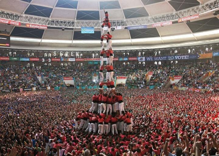 Замки из людей. Соревнование в Таррагоне 2014 (4)