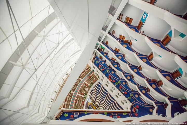 Самый дорогой гостиничный номер в семизвездочном отеле Burj Al Arab (49)