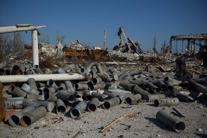 Аэропорт Луганска, наши дни (5)