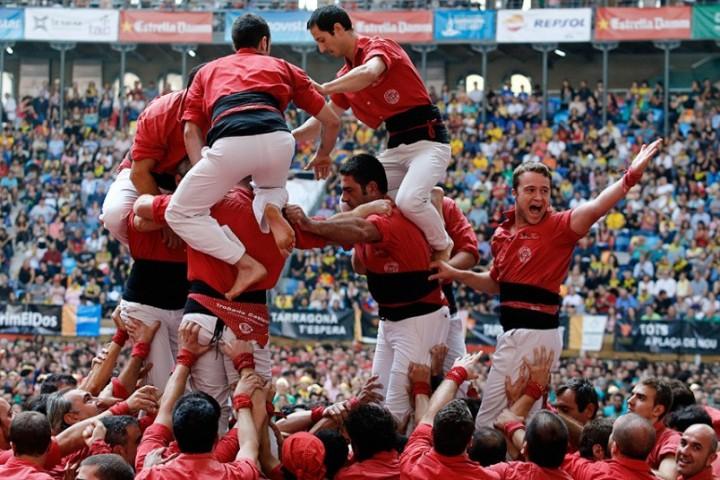 Замки из людей. Соревнование в Таррагоне 2014 (6)